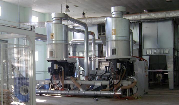 P700 Wood pellet press line
